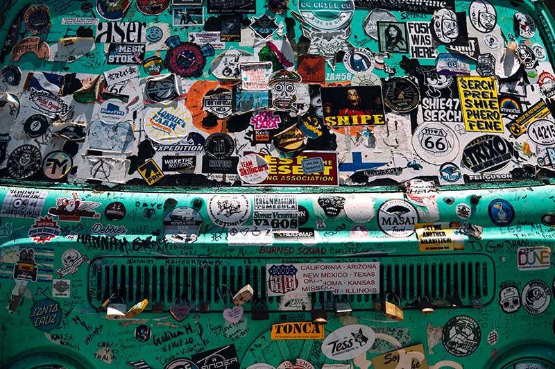comment poser un sticker sur une voiture ou une moto - Stickers sur voiture